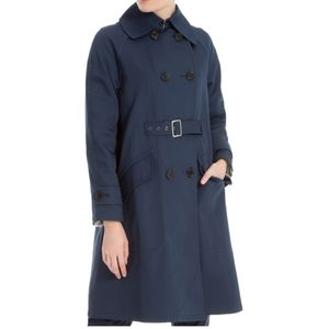 NWT MAX STUDIO LONDON BELTED TRENCHCOAT SZ. S
